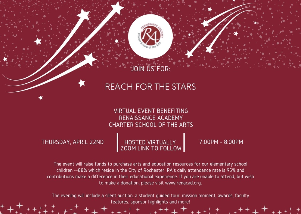Reach for the Stars Virtual Benefit