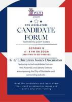 NYS Legislature Candidate Forum