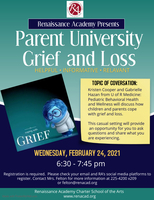 Parent University: Grief and Loss