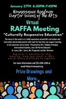 Culturally Responsive Education : RAFFA Meeting 1/27/21