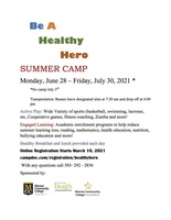Healthy Hero Summer Camp