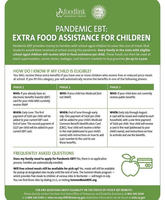 Pandemic EBT: Extra Food Assistance For Children