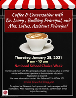 Coffee & Conversation with the Principal