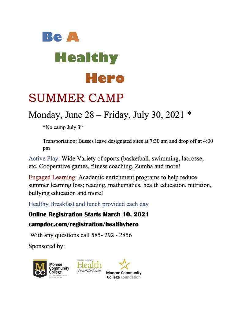 HH Camp Flyer