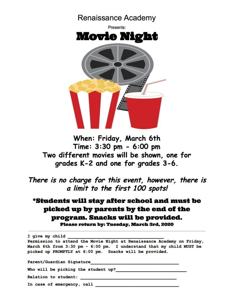 RA Movie Night Flyer