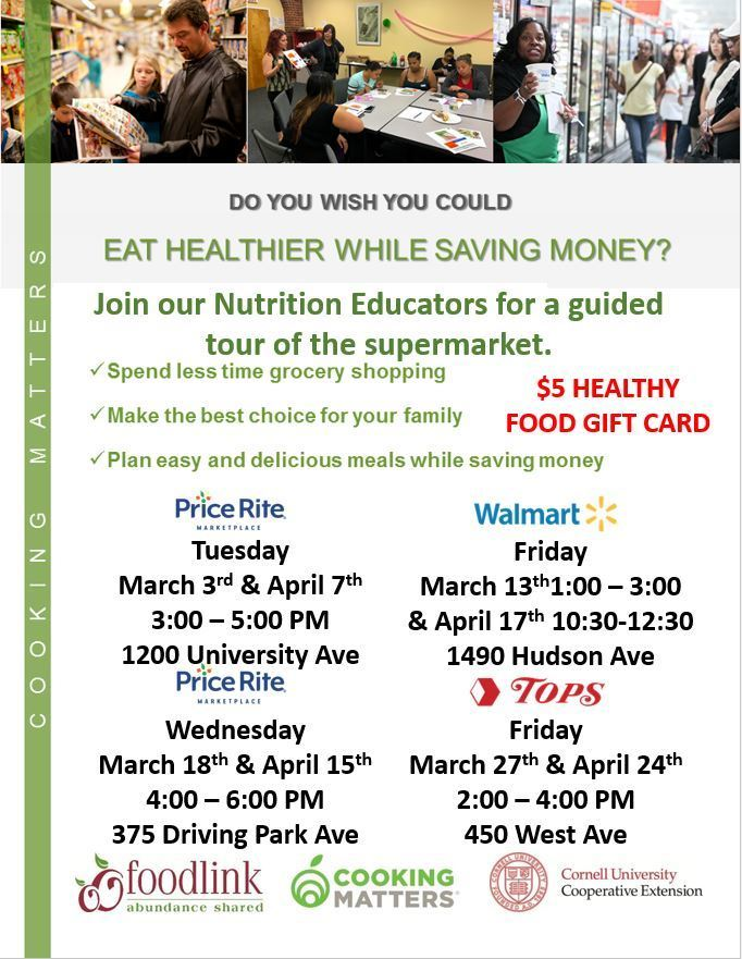 Cooking Matters Flyer